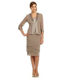 Le Bos Woman Tiered 3-Piece Skirt Set | Dillard's Mobile