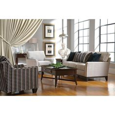 Perspectives Sofa and Love Seat by Broyhill - High Point-Discount Furniture