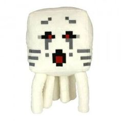 A ghast plush toy review from TTPM. This is a cuddly version of the Ghast from Minecraft! A great gift for young kids that love to collect toys from Minecraft.