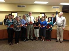 The Pine Tree Post: District News: PTISD Trustees Honor Teachers of the Year