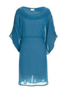 Kaftan pintuck dress