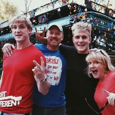 The Paul family George Janko, Logan Jake Paul, Stand By Me, Youtubers, Celebrities, Boys, Cleveland Ohio, Pinterest Board, 4 Life