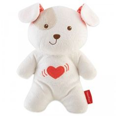 This plush puppy plays music and vibrates gently to soothe baby to sleep.