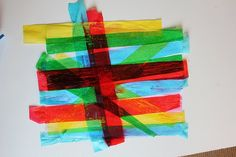 loads of creative ideas for tissue paper