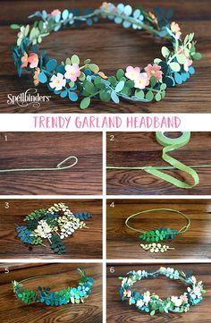 Trendy Garland Headband | Spellbinders