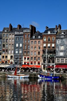 The harbour of Honfleur in Normandy, France. I wanted to spend hours and hours here.