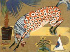 Amadeo de Souza-Cardoso (Portuguese: 1887 – 1918) | Clown, Horse, Salamandra 1912