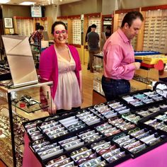 JUDITH: real people wearing ROGER @ SFSE San Mateo / Site for Sore Eyes / 115 E 3rd Ave, San Mateo, CA 94401 / (650) 347-1500 Sore Eyes, Optician, Simple Shapes, Real People, Dutch, Eyewear, How To Wear, Color, Collection