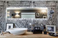 Bathroom Crush ♥12 - la carta da parati in bagnoBagni dal mondo | Un blog sulla cultura dell'arredo bagno