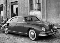 Monterosa Zagato, model 1947. Produred by Società Milanese Automobili Isotta, Fraschini & C. (Company closed in 1949).