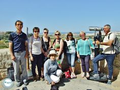 Turning back the clock -  Club 50+ #students visiting #Rabat, the #Catacombs and #Mdina ... with a final, refreshing drink ! We love #Malta !! MORE PICS https://www.facebook.com/media/set/?set=a.868725873204544.1073741965.121636717913467&type=3