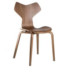 Grand Prix Chair (Available in Walnut or Oak)