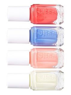 Celebrate those lazy, hazy, crazy summer days with this adorable mini four-pack of nail polish by essie.