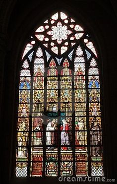 vitrais igreja santa gúdula bruxelas