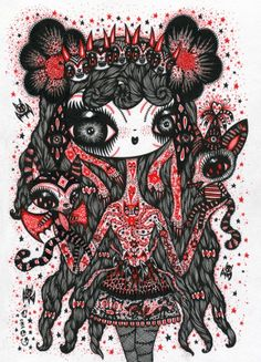 Lady evilbeauty | #Drawings by Ciou