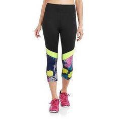 Sauci Juniors Color Block Capri Pants - Walmart.com