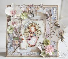 Camilla's Magnolia blog (DT Norway): Tripping Flower Tilda ♥