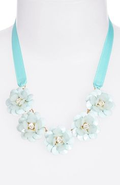 Cara Couture Flower Necklace (Girls) available at #Nordstrom