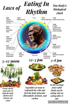 How to eat clean and in rhythm for your body