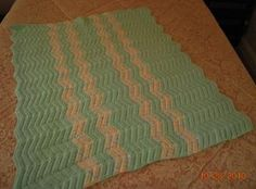 Easy crochet ripple afghan pattern, step by step  instructions. Beginners can find a ripple a little bit confusing when they are just learning to crochet.