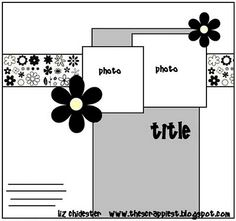 Check out the blog for beautiful layouts based on this sketch.