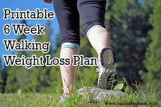 Walking Weight Loss Printable – Real Advice Gal