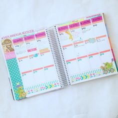 Day 4: Weekly deco! #plannerdarlingspotd