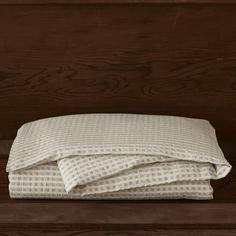 Coyuchi Birch Cotton  / Linen Duvet Collection