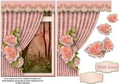Room With A View - Blush Roses