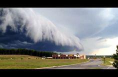 Amazing Ominous Upcoming Storm Cloud