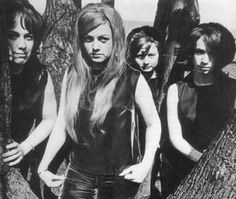 the Luv'd Ones, all girl garage band