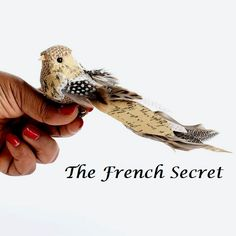 Christmas Burlap Bird Ornament Decoration by TheFrenchSecret