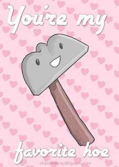 funny Valentine's day card idea