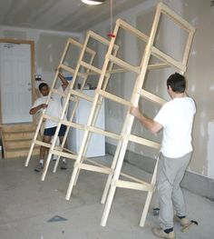 New Ideas For Diy Shelves Storage Playrooms Basement Storage Shelves, Garage Storage Shelves, Diy Garage Storage, Built In Storage, Dvd Storage, Diy Baby Shower Decorations, Diy Kitchen Remodel, Bath And Beyond Coupon, Woodworking Projects Diy
