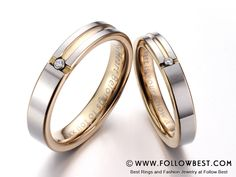 exquisite #wedding band Design Your Own Ring, Couple Rings, Best Wedding Dresses, Diamond Jewellery, Bangles, Bracelets, Fashion Rings, Wedding Bands, Engagement Rings
