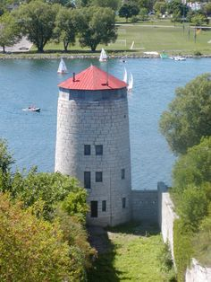 one of the Martel towers at Old Fort Henry, Kingston, Ontario