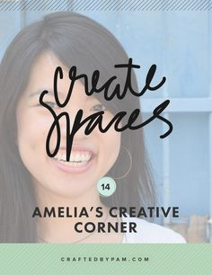 Amelia is a proof that you don't need a full-blown memory-keeping room to create your own albums.  You can create art whenever and wherever if you put your heart in it ;)  Let's take a peek at Amelia's creative corner! | READ THE FEATURE HERE »