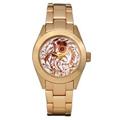 English Gilded Floral Watch - Women's Watches - Watches - The Met Store