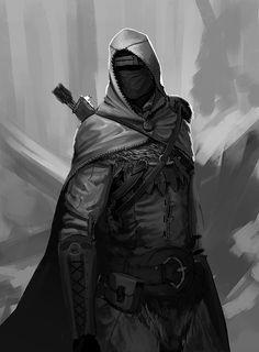 Fantasy Character Design, Character Design Inspiration, Character Concept, Character Art, Arte Ninja, Ninja Art, Fantasy Kunst, Dark Fantasy Art, Fantasy Armor