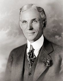 Henry Ford died from a cerebral hemorrhage at his Dearborn Estate on April He is buried in the Ford Cemetery in Detroit. His only son, Edsel died from cancer in 1947 and grandson, Henry Ford II took over running Ford Motor Co. Ford Motor Company, Ford Company, Edsel Ford, Henry Ford Biography, Autos Ford, Henry Ford Quotes, Armada, American History, Spain