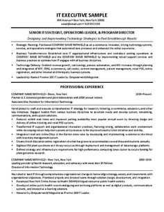 It Supervisor Resume Example  Resume Examples