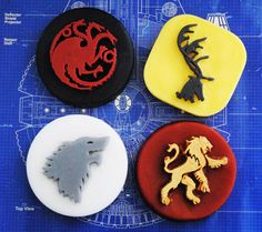 4 x Game of foam soaps  Fire and blood Winters coming parody