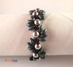 Rechten Winkel weben  Perlen Armband Muster  von TheBeadClubLounge