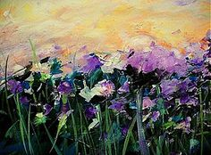 Obrazy - When sun touches the purple - 1372077