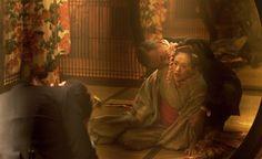 Memoirs of a Geisha (2005) Tsai Chin, Gong Li, Memoirs Of A Geisha, Painting, Hands, China, Painting Art, Paintings, Painted Canvas