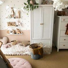 Small Space Interior Design, Interior Design Living Room, Baby Bedroom, Girls Bedroom, Boy Room, Kids Room, Rainbow Bedroom, Deco Kids, Small Home Offices