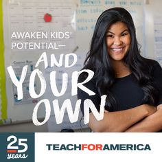 Teach. Lead. Change the World. Teach for two years in a low-income community. Apply now.