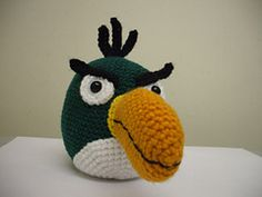 Angry Birds Amigurumi Pattern : Angry birds for Ryan on Pinterest Angry Birds, Free ...