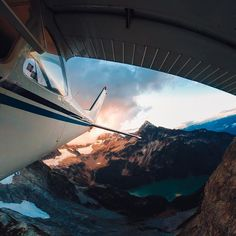 Photo of the Day! Flying high with #GoPro Award recipient @edgarbullon. We're loving all the awesome submissions, keep it up! #Sunset #ExploreBC