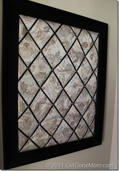 Diy Fabric Photo Board Ditto Diy Cork Board Tiles